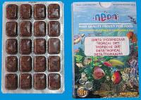 Замороженный корм для рыб мелких рыб/Диета тропическая, блистер (100 мл.)