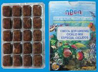 Замороженный корм для цихлид, блистер (100 мл.)