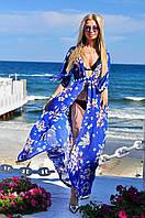 Пляжная женская туника в пол , фото 1
