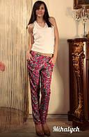 Разноцветные женские штаны