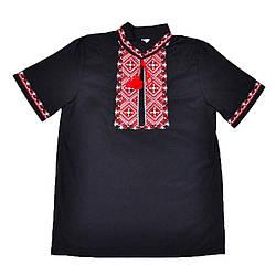 Вышиванка Орнамент черного цвета для мальчика, Valeri tex