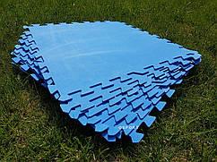 Детский игровой коврик-пазл (мат татами, ласточкин хвост) OSPORT 50х50см толщина 4мм (58220)