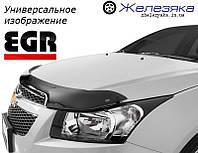 Дефлектор капота (мухобойка) Suzuki S-Cross 2017 (EGR)
