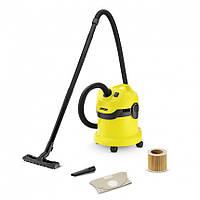 Karcher WD 2 Пылесос для сухой и влажной уборки (1.629-764.0)