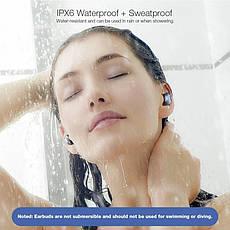 Бездротові водонепроникні навушники з мікрофоном магнітні (гарнітура) Blitzwolf BW-FYE5 Blue, фото 3