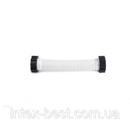 Гофрированный шланг с гайками для бассейна Intex 11764 к песочному насосу и хлоргенератору, фото 2