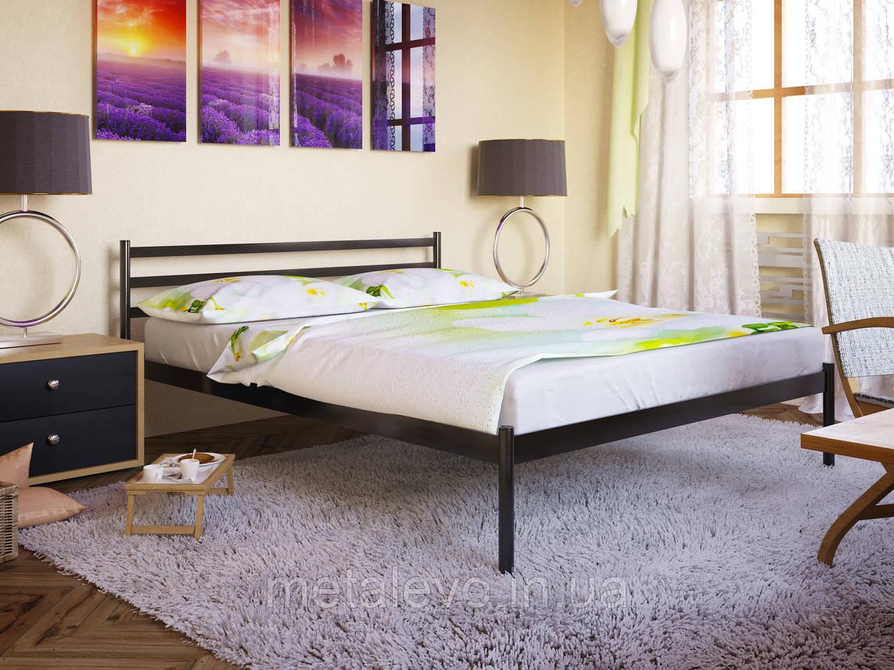 Односпальная металлическая кровать ФЛАЙ-1 (FLY-1) 80х190