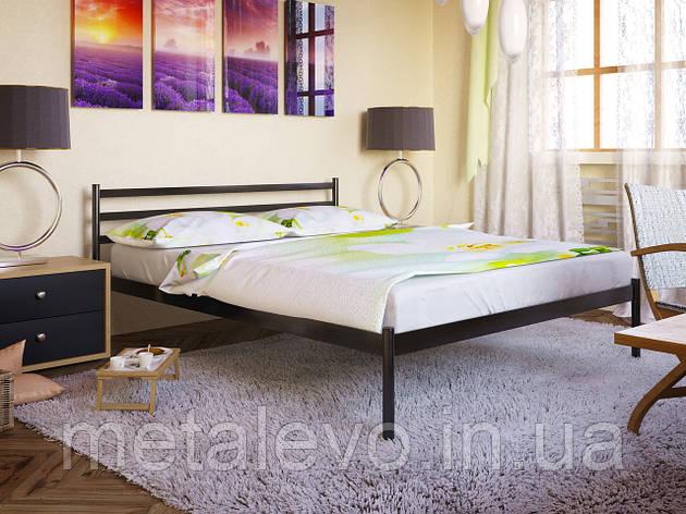 Односпальная металлическая кровать ФЛАЙ-1 (FLY-1) 80х190, фото 2