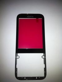 Передняя панель Nokia 225 черная (оригинал)