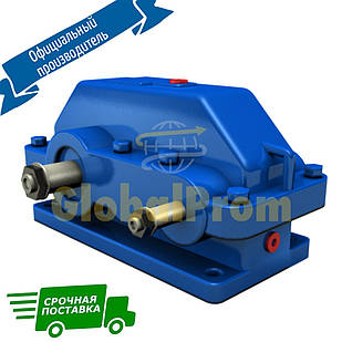 Цилиндрический редуктор Ц2У-125, цилиндрический двухступенчатый редуктор, Ц2У 125, редуктор Ц2У
