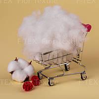 Синтепух Fior Textile, украинский 7 dtex, бело-серый (скидки от 5кг и 10кг)