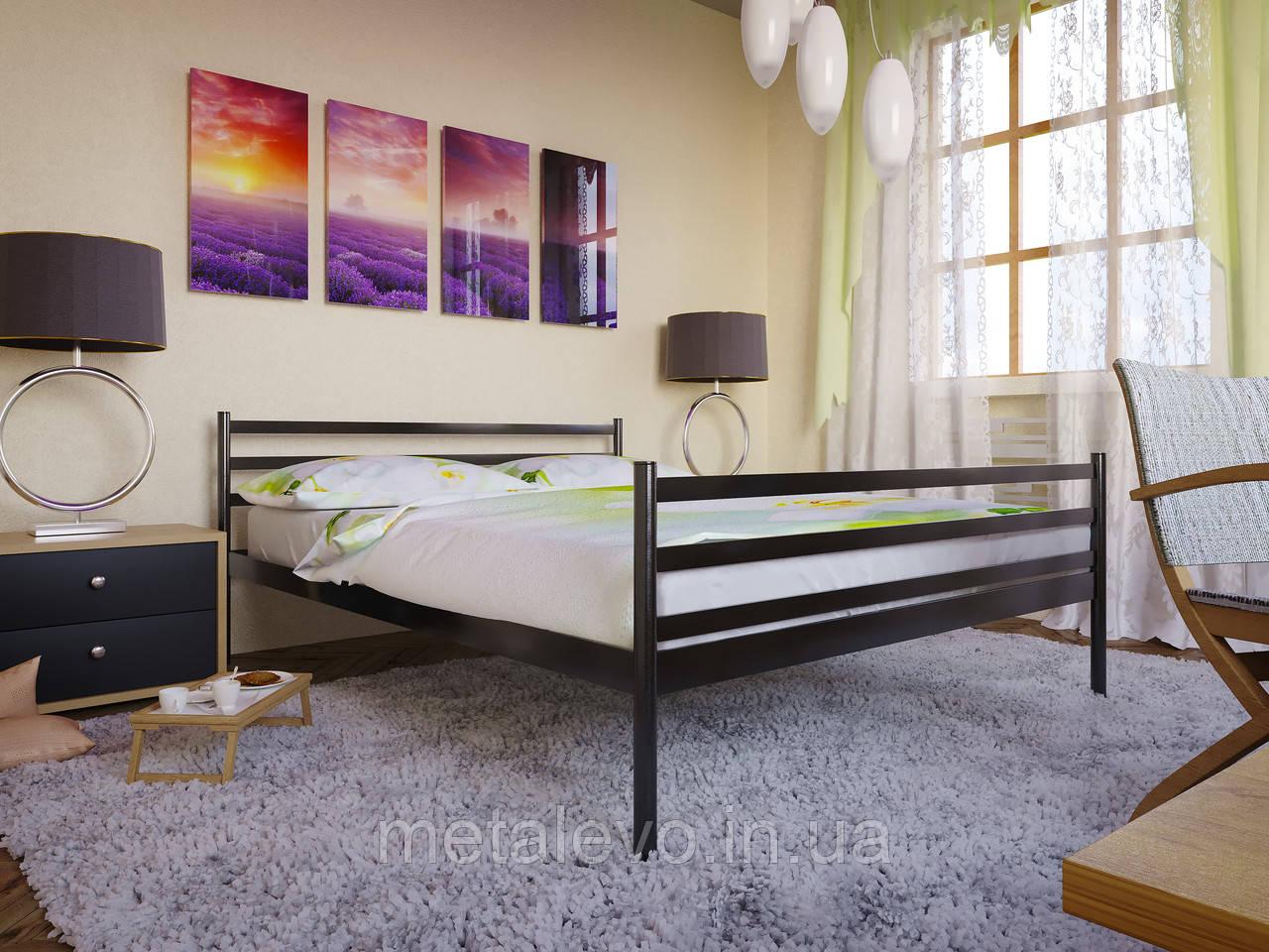 Металлическая кровать с изножьем ФЛАЙ-2 (FLY-2)