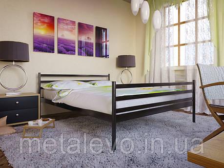 Металлическая кровать с изножьем ФЛАЙ-2 (FLY-2) , фото 2