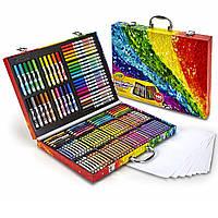 Crayola Набор для рисования в чемоданчике Кейс для творчества Крайола 140 предметов