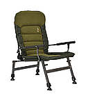 Кресло карповое M-Elektrostatyk FK6+POD подставка для ног, фото 2