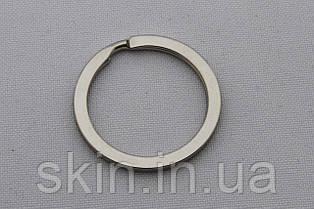 Кольцо ключное плоское, внутренний диаметр 25 мм, толщина 2 мм, цвет - никель, артикул СК 5176