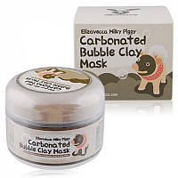Маска для лица Elizavecca Milky Piggy Carbonated Clay Mask, фото 1