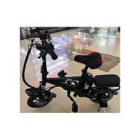Велосипед на моторе E-BIKE MiniFOX Аккумулятор 8.8 черный цвет мощность 250 W