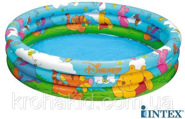 Intex Бассейн надувной детский 58915  размером 147х33см, объемом  338 л