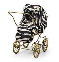 Дождевик для детской коляски Elodie details Zebra Sunshine для коляски любого типа.
