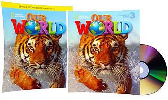 Английский язык / Our World. Student's+Workbook+CDs, Учебник+Тетрадь (комплект с дисками), 3 / NGL