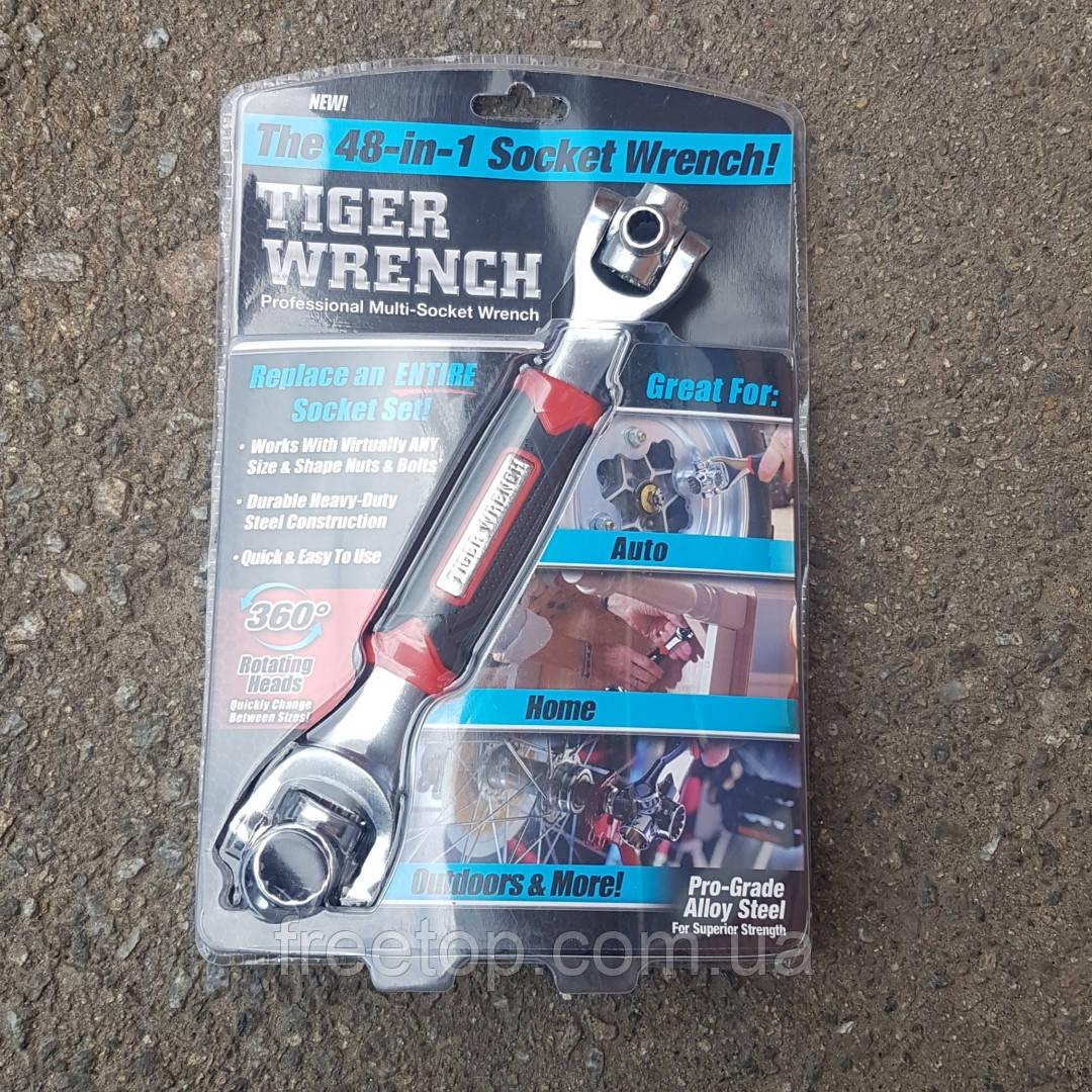 Универсальный ключ 48 в 1 Universal Tiger Wrench (универсальный Тайгер Вренч)