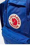 Молодежный рюкзак сумка Fjallraven Kanken Classic канкен классик Синий (электрик) + подарок, фото 5