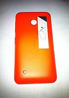 Панель задняя оранжевая Nokia Lumia 530 (оригинал)