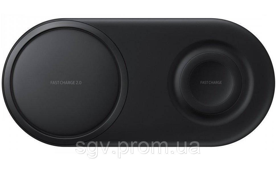 Беспроводное зарядное устройство Samsung Wireless Charger Duo Black