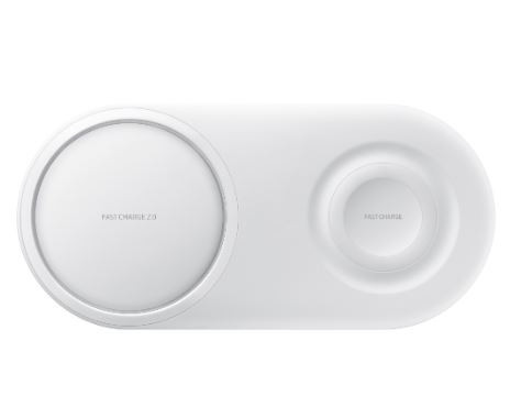 Беспроводное зарядное устройство Samsung Wireless Charger Duo White