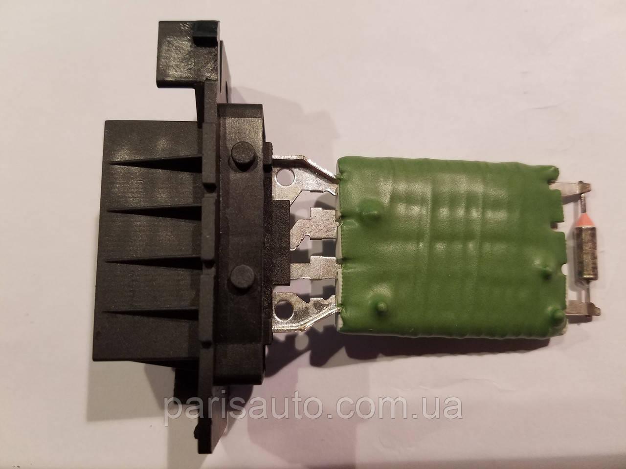 Резистор печки электродвигателя вентилятора FIAT DOBLO (152, 263), GRANDEPUNTO (199), QUBO (225); OPEL CORSA D