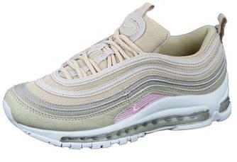 Женские кроссовки Nike Air Max 97 'Beige' (Premium-class) бежевые
