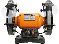 Точильный станок с регулировкой оборотов 550Вт WorkMan TLG200VL