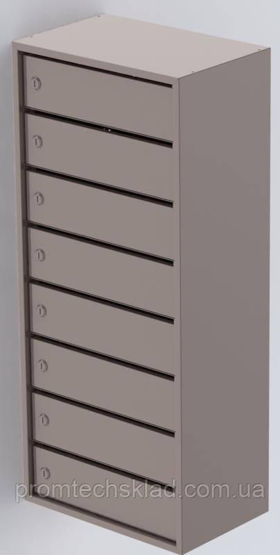 Антивандальні Ящики поштові від 5 до 10 квартир із задньою стінкою