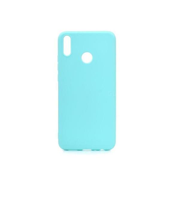 Чехол Candy Silicone для Huawei Honor 8X цвет Бирюзовый