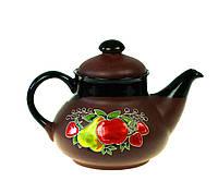 "Чайник из глины ""Фруктовый аромат"" 1л"