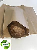 Крафт пакеты для лаваша 220мм*80мм*380мм бурый