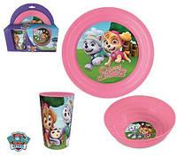 Набор детской посуды Paw Patrol