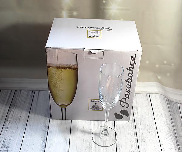 Набор бокалов для шампанского Pasabahce Энотека 170 мл 44688