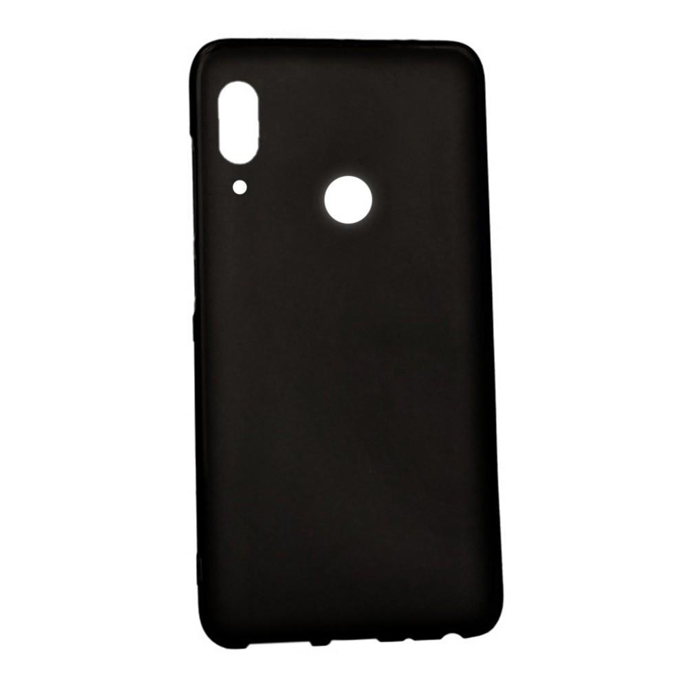 Чехол Candy Silicone для Huawei Honor 8X цвет Черный