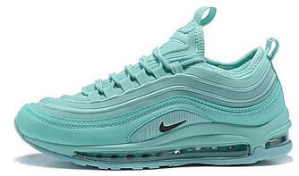 Женские кроссовки Nike Air Max 97 'Blue' (Premium-class) голубые