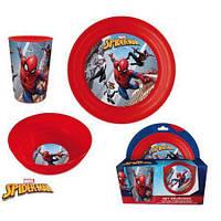 Набор детской посуды Spider-Man