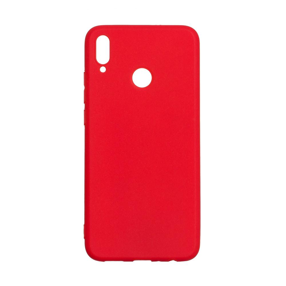 Чехол Candy Silicone для Huawei Honor 8X цвет Красный