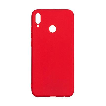 Чехол Candy Silicone для Huawei Honor 8X цвет Красный, фото 2