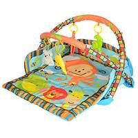 Коврик с бортиками для младенца (в сумке)
