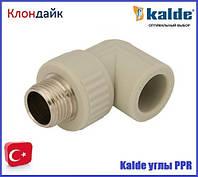 Kalde (белый) угол с наружной резьбой ∅32х3/4