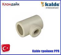 Kalde (білий) трійник перехідний 40х20х40