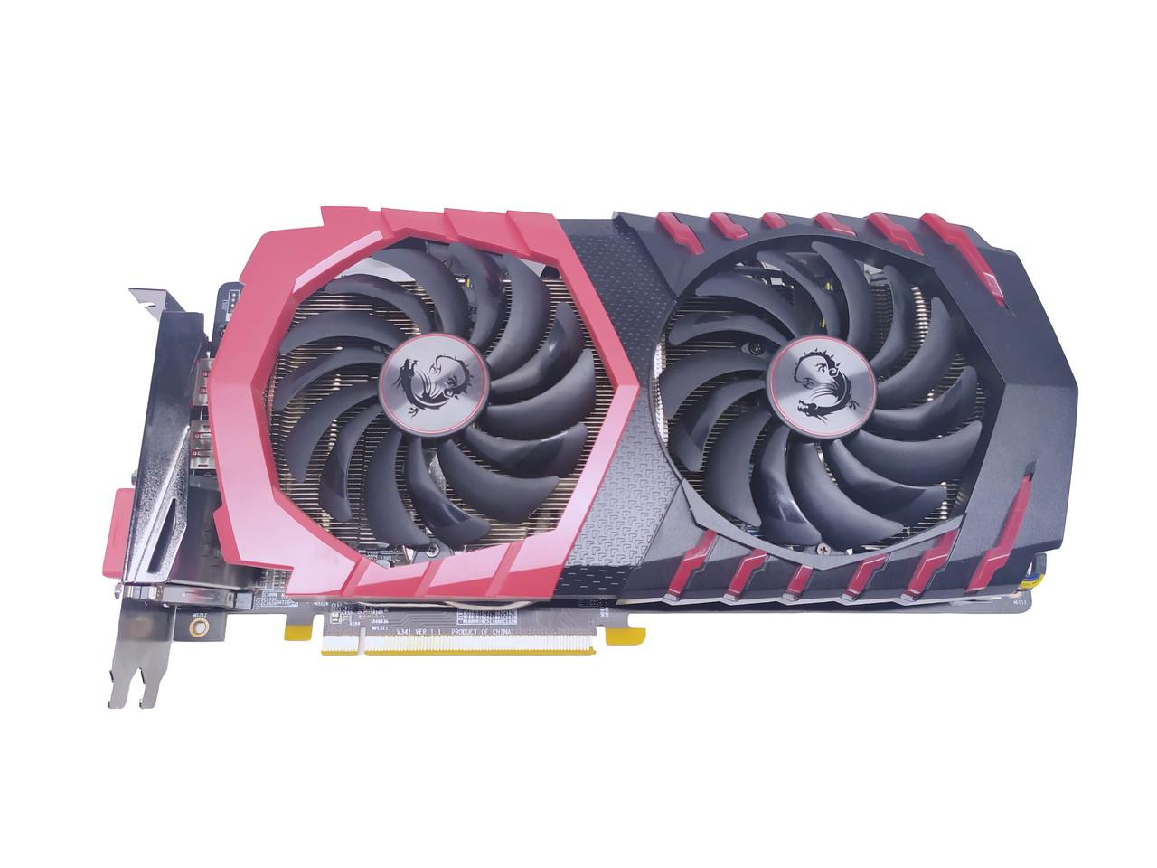 Б/У видеокарта MSI PCI-Ex Radeon RX 470 Gaming 4GB GDDR5 (256bit)(DVI, 2 x HDMI, 2 x DisplayPort)