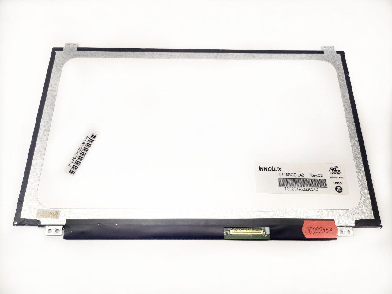 """Матрица CHI MEI N116BGE-L42 REV.C2 11.6"""" (Подсветка LED, Разъем 40 pin)"""