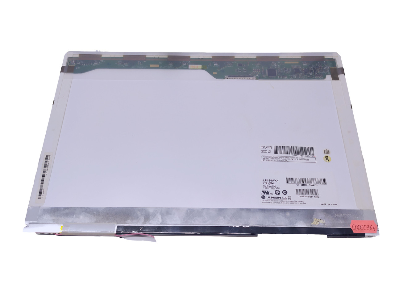 """Б/У Матрица LG LP154WX4-TLB4 15.4"""" (Подсветка Ламповая, Разъем 30 pin)"""